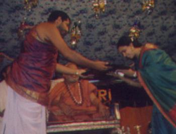 Sangeetha Saraswathi . Sringeri Peetam.