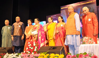 Sudha is the recipient of Bharatiya Samagana Sabha's Samagana Mathanga National Award.