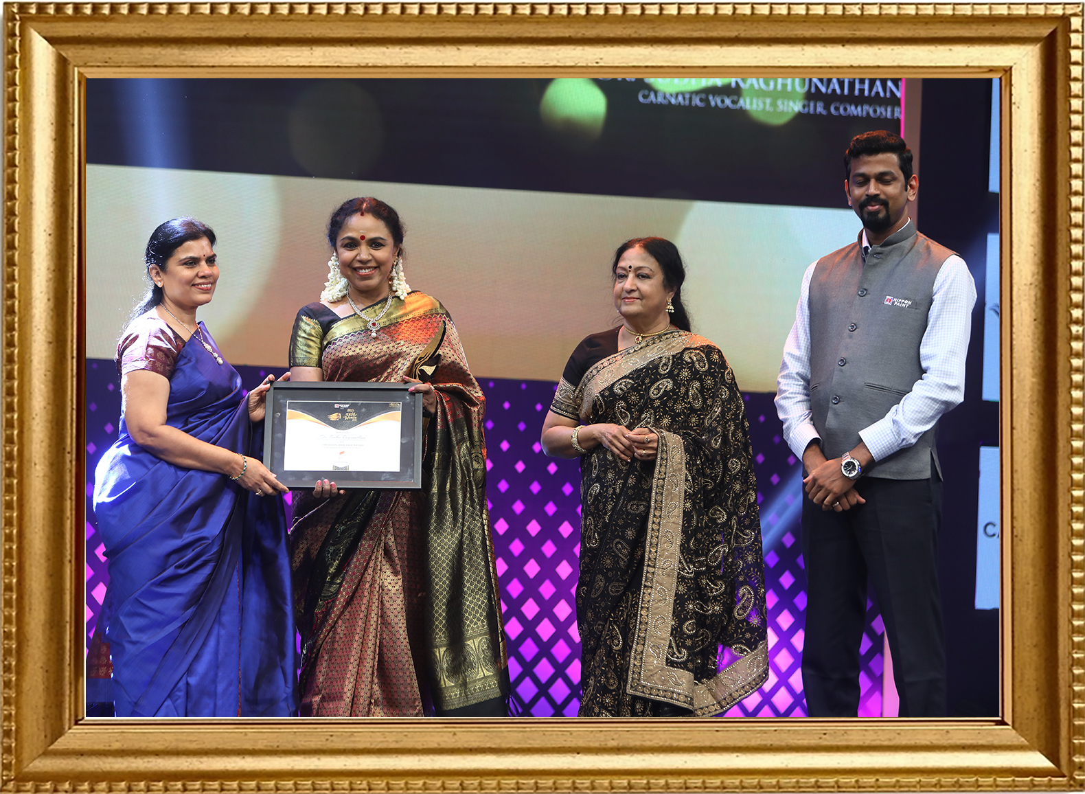 Hindu Heritage Award, recognizing excellence in art and culture