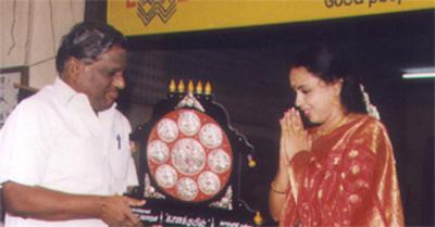 M. L. V Platinum Jubilee Award , Dr. M. L. V Cultural trust, Chennai